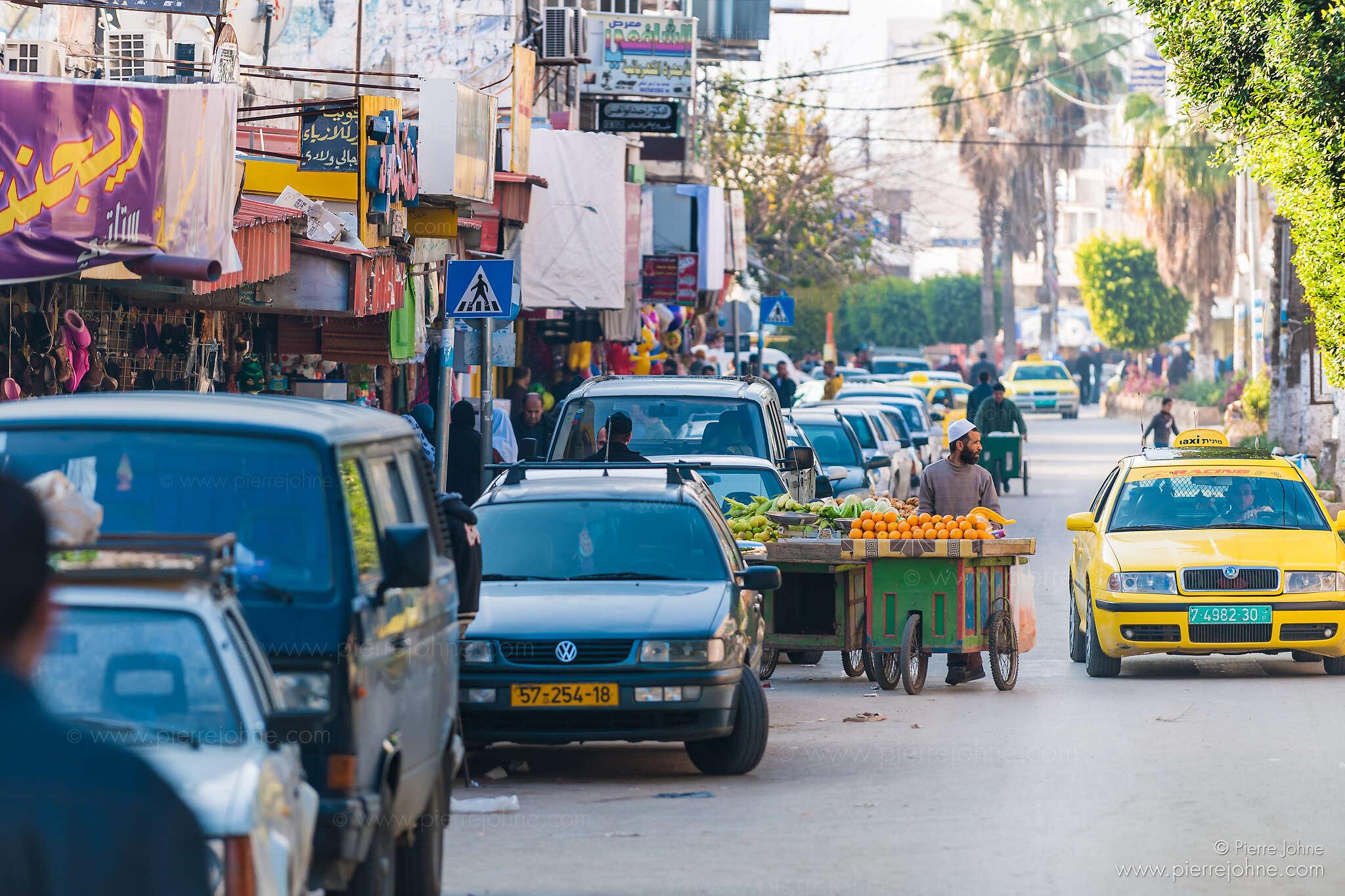 Daily market scene, Jenin, Palestine