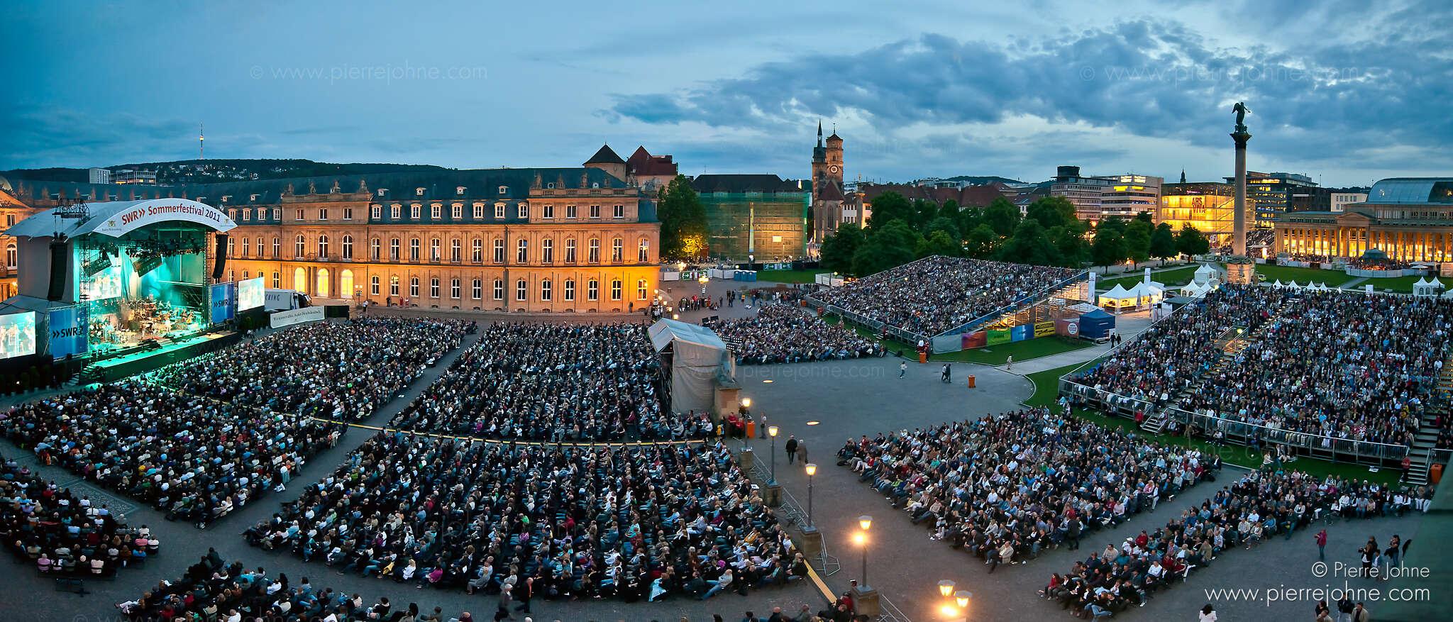 SWR Sommerfestival, Stuttgart, Germany