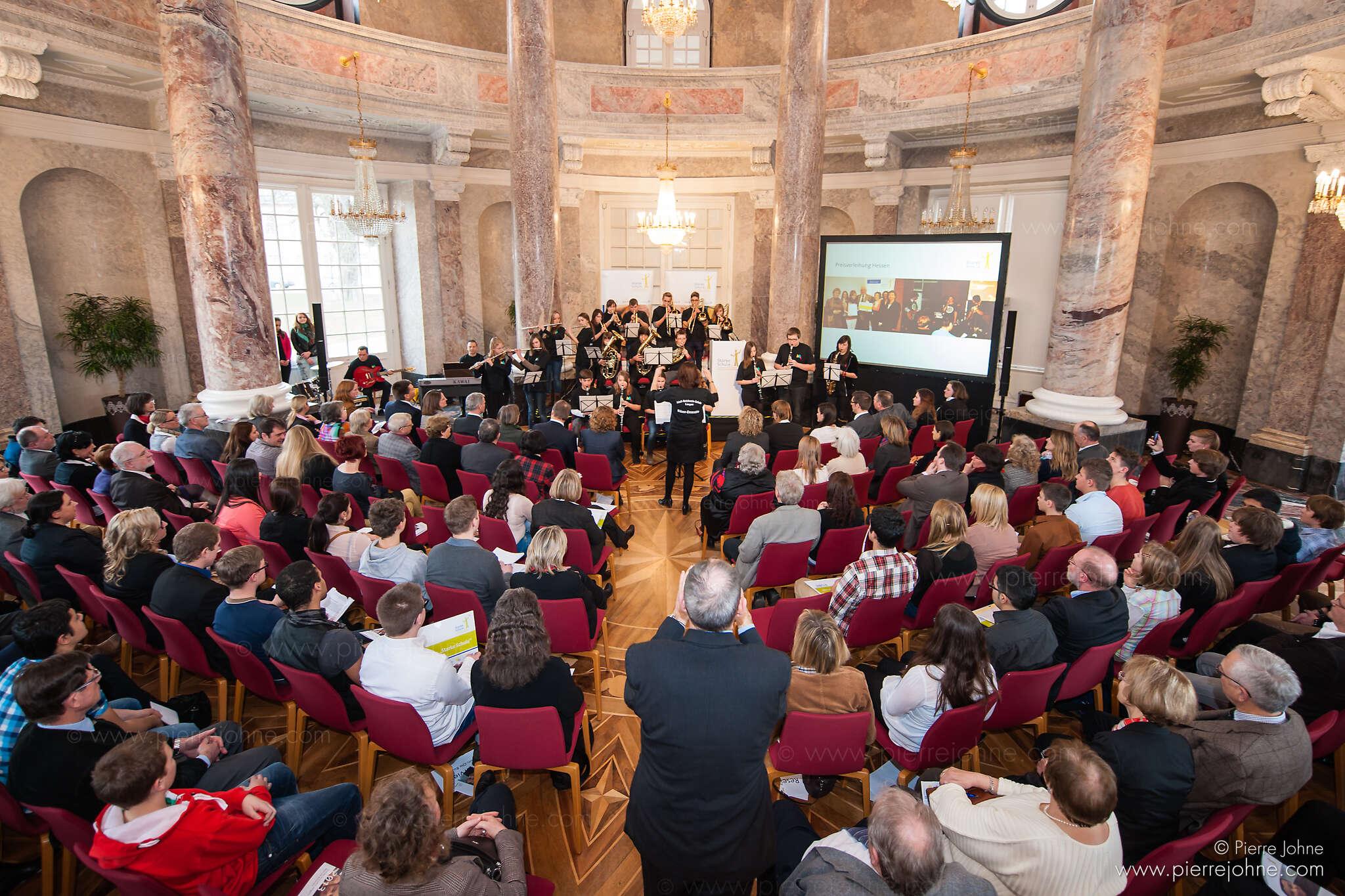 Starke Schule - Landespreisverleihung Hessen, Wiesbaden, Germany